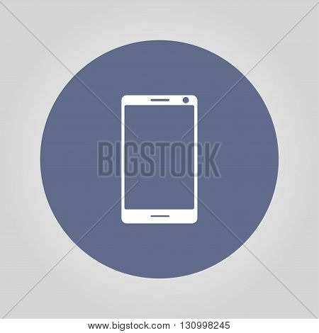 smartphone icon vector illustration flat EPS 10
