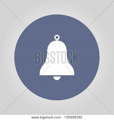 Vector Bell Icon Symbol. Flat illustration EPS