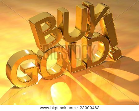 Buy Gold Gold Text