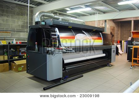 Impresión digital - wide format printer
