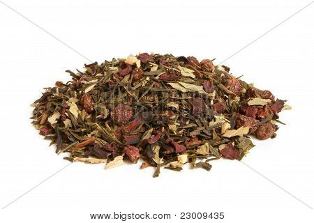 Green Tea With Dried Fruits