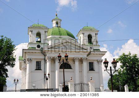 Church of St. John the Baptist. Ukraine. Bila Tserkva.