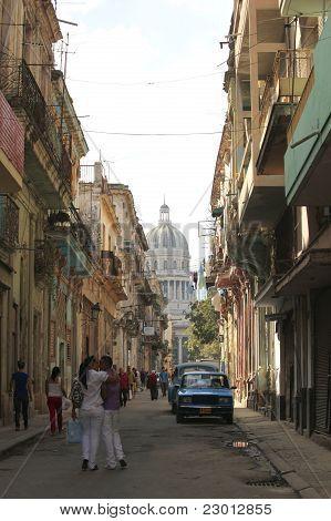 On The Street In Havana