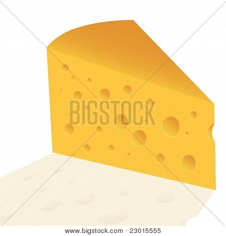 Cheese Slice With Holes