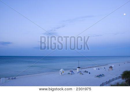 Beautiful Evening In The Beach