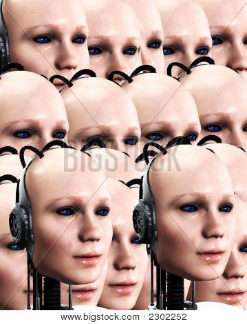 Many Robo Women