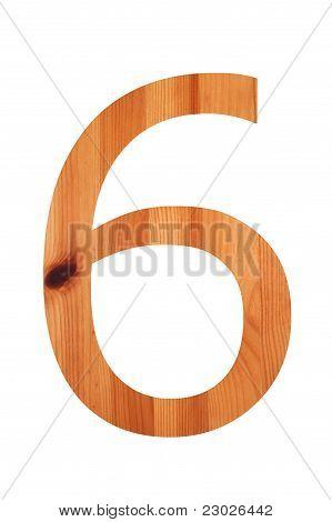 Wood Alphabet 6
