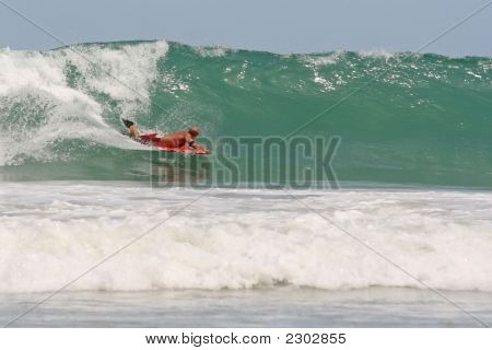 Bodyboarding In