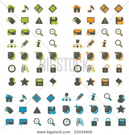 Pack of icons for web