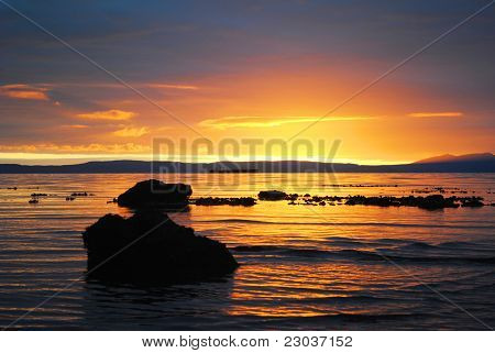Sunset: Ayr Beach