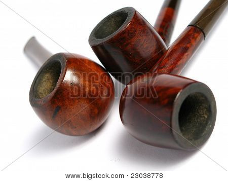 Many Elegant wood Pipe