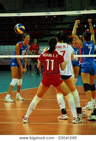 Serbia - China Volleybal Match