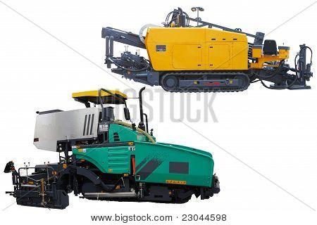 Asphalt Spreading Machines