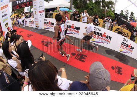 Ironman Philippines Marathon Run Race Finish
