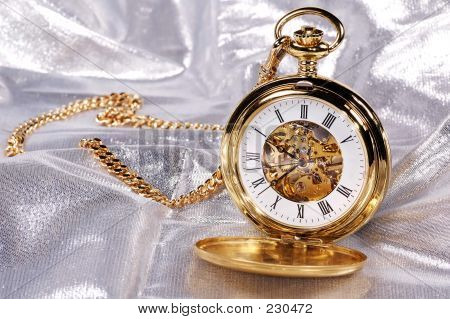 Gold Pocketwatch