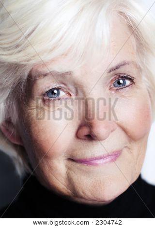 Senior Lady Close-Up