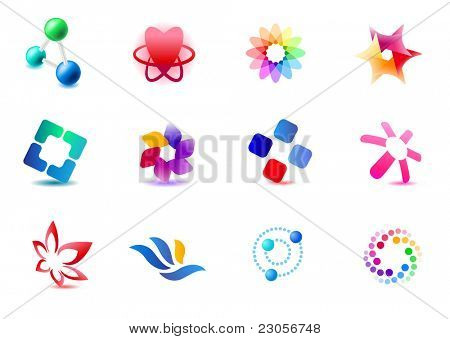 Set of different icons (part 1). Please see more in my portfolio.
