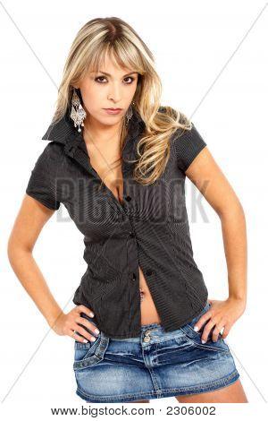Fashion Woman Portrait