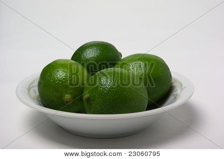 Four Limes In A Bowel