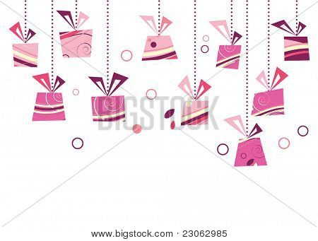 Gift set. Raster version. Vector version is in my gallery.