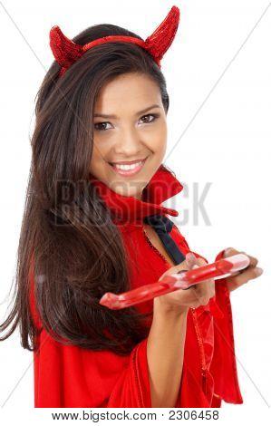 Female Red Devil