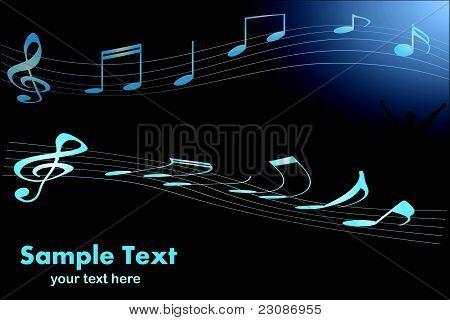 Escena de la música