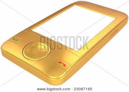 Golden mobile phone smart-phone generic