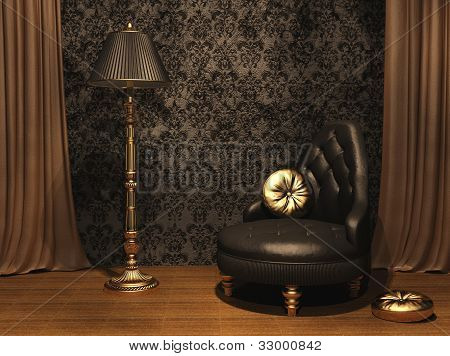 Luxurious Furniture In Old Styled Interior