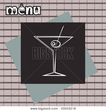 Bar Restaurant Menu Design Template