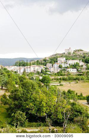 Comps sur Artuby, Provence, France