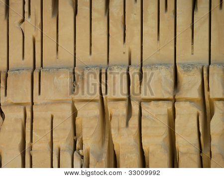 Steinbruchmauer