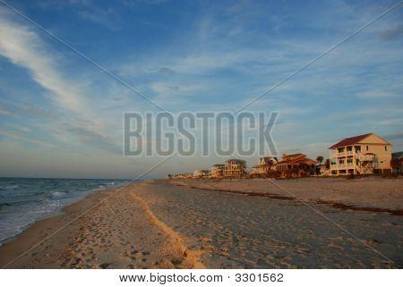 Sandy Beach At St George Island, Florida