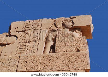 Statue Philea temple Egypt