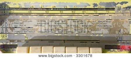 Scale Of The Ancient Russian Radioreceiver