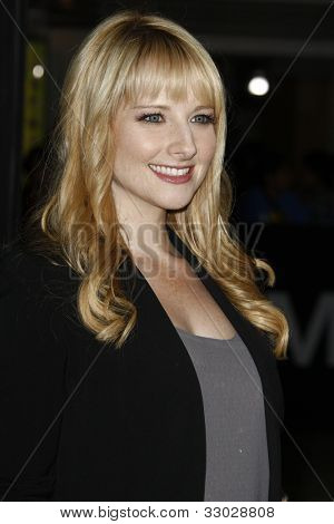 LOS ANGELES - OCT 20: Melissa Rauch at the 'In Time' Premiere at the Regency Village Theatre on October 20, 2011 in  in Los Angeles, California