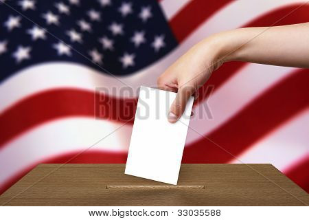 Hand With Ballot