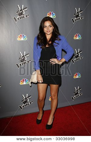 LOS ANGELES - JUNE 29: Kelsey Rey at the 'The Voice' Live Finale After Party at the Avalon Hollywood on June 29, 2011 in Los Angeles, California