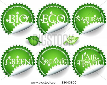 Green Stickers-set2