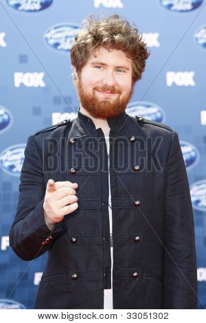 LOS ANGELES - MAY 6: Casey Abrams at the American Idol Finale at the Nokia Theater in Los Angeles, California on May 25, 2011