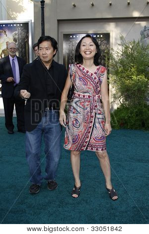 LOS ANGELES, CA - JULY 06:  Ken Jeong at the premiere of 'The Zookeeper' at the Regency Village Theatre on July 6, 2011 in Los Angeles, California
