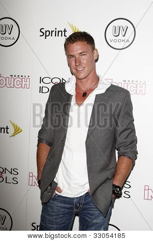 WEST HOLLYWOOD - AUG 28: Kasey Kahl at the 4th annual Icons & Idols party at the Sunset Tower Hotel in West Hollywood, California on August 28, 2011