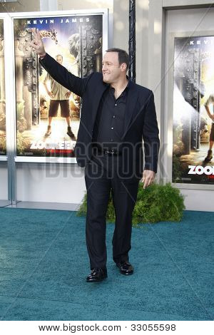 LOS ANGELES, CA - JULY 06:  Kevin James at the premiere of 'The Zookeeper' at the Regency Village Theatre on July 6, 2011 in Los Angeles, California