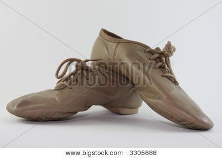Beige Jazz Shoes