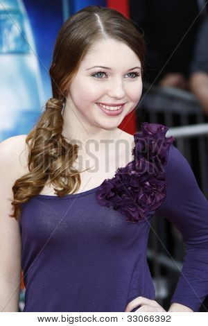 LOS ANGELES - MARCH 6: Sammi Hanratty at the World Premiere of 'Mars Needs Moms' held at the El Capitan Theater in Los Angeles, California on March 6, 2011