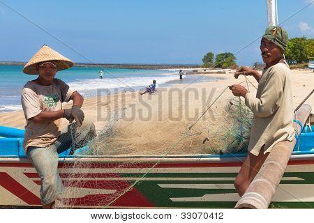Balinese Fishermen