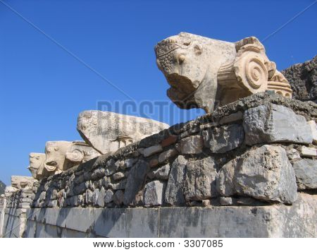 Ephesus, Turkey - Ancient Carvings