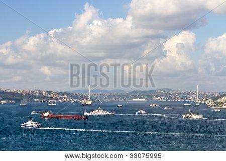Bosporus Sea Istanbul