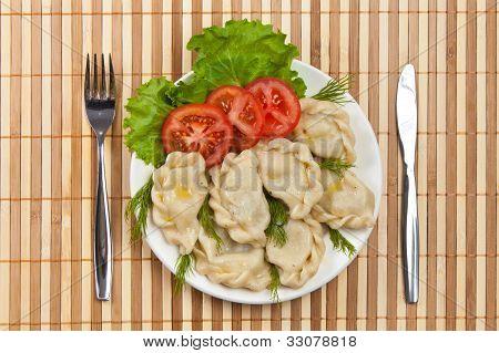 Tasty Ravioli With Tomato