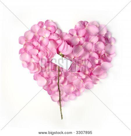 Valentine Blank Note