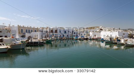 port of Naoussa,  Paros island , Greece